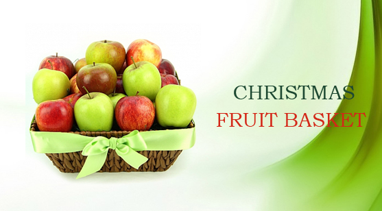 19send Christmas fruit Basket